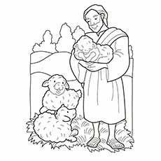 nativity coloring pages shepherds - Nativity Coloring Pages Printable
