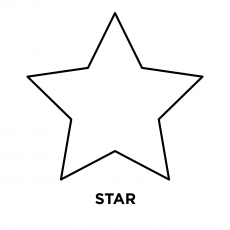 photograph about Star Printable Cutouts referred to as Greatest 20 Totally free Printable Star Coloring Internet pages On line