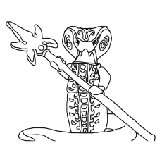 Ninjago Skales Coloring Pages
