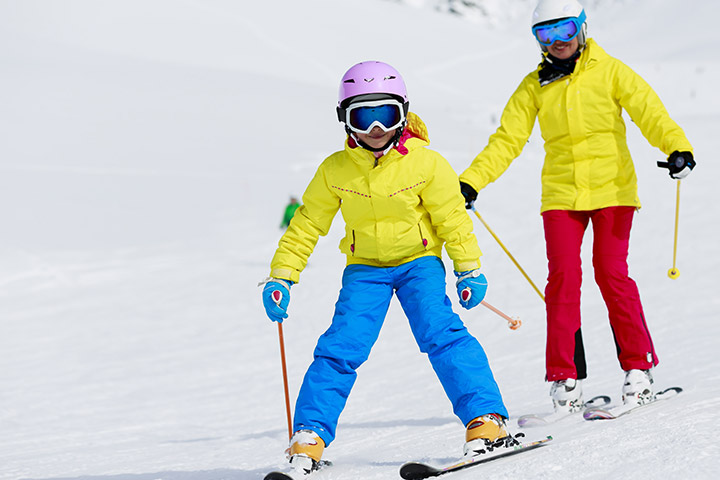 Skiing And Skating
