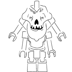 Ninjago Skulkin Coloring Pages