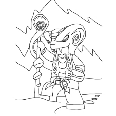 Ninjago Slithraa Coloring Pages