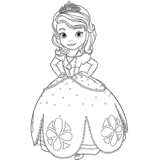 top 25 disney princess coloring pages for your little girl - Disney Princess Coloring Pages