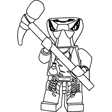 Ninjago Spitta Coloring Pages