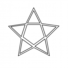 Star-Of-David- coloring pages