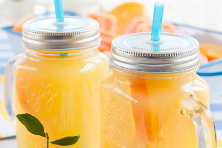 Healthy Drinks For Kids - Tangy Electrolyte Drink