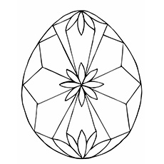 diamond coloring page uncut diamond the easter egg