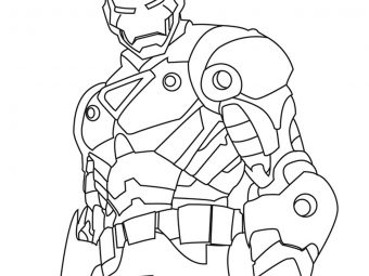 Top 20 Iron Man Coloring Pages You Toddler Will Love