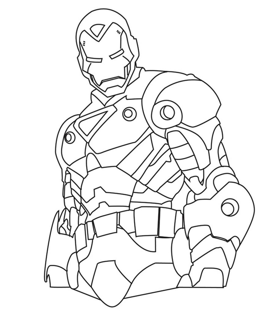 Top 8 Free Printable Iron Man Coloring Pages Online