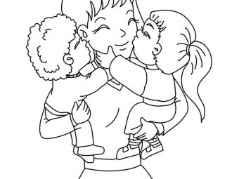 Top 20 Mother's Day Coloring Pages For Toddlers