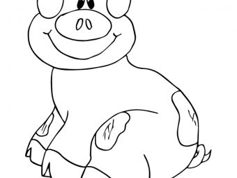 Top 20 Pig Coloring Pages Your Toddler Will Love