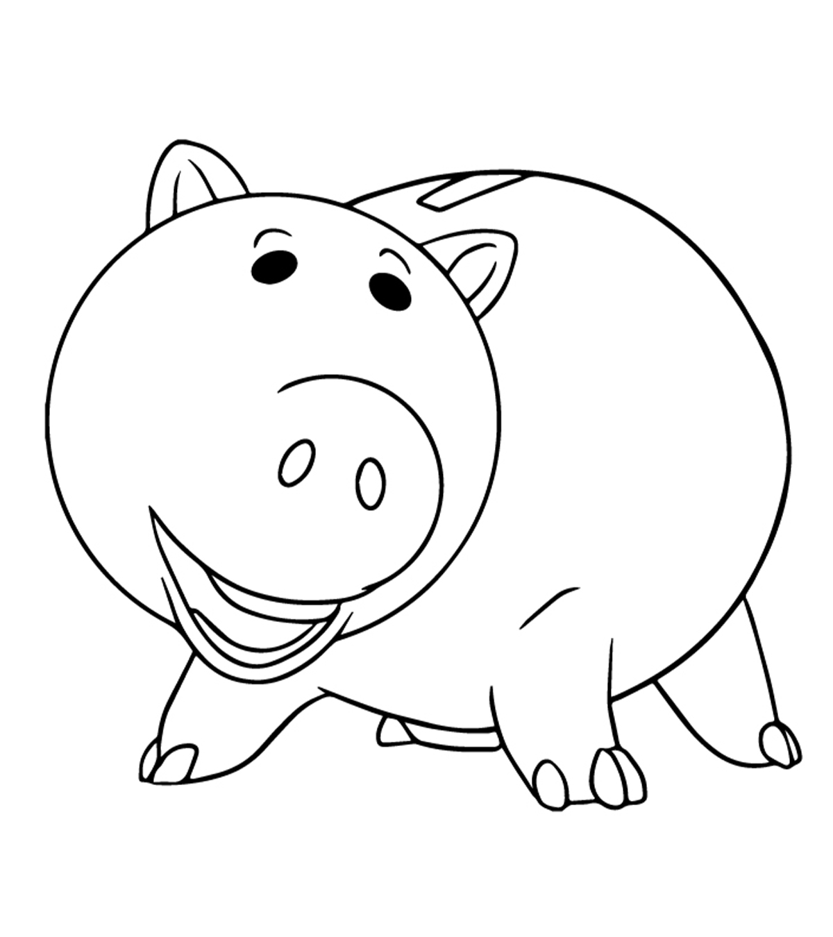 Top 20 free printable pig coloring pages online