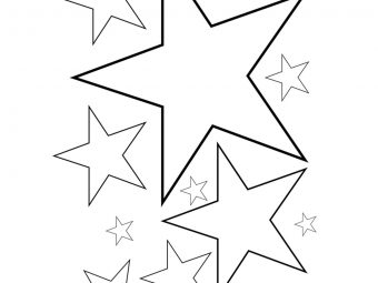 Top 20 Star Coloring Pages Your Toddler Will Love To Color