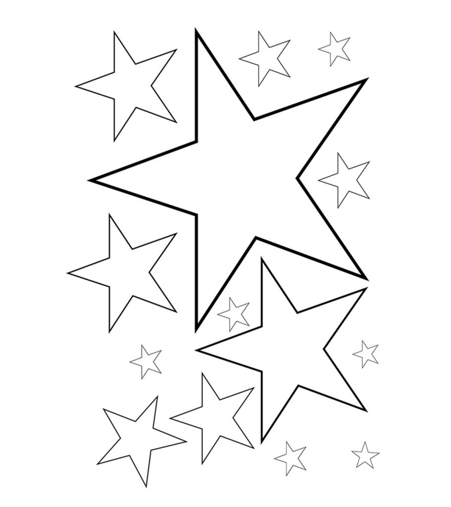 It is a graphic of Sizzling Star Coloring Pages Printable