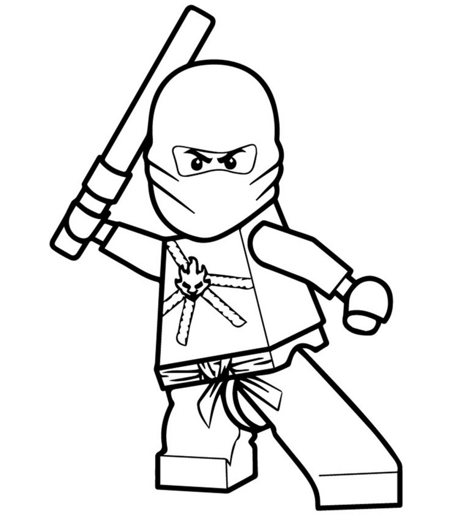Top 40 Free Printable Ninjago Coloring