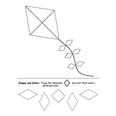Trace Diamond Shaped Kite