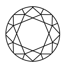 diamond coloring page uncut diamond