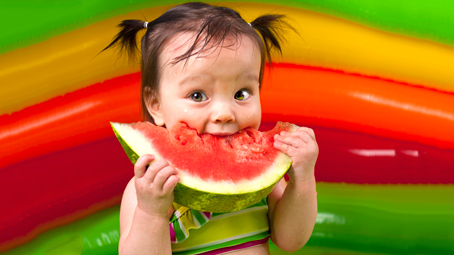 Watermelon For Baby