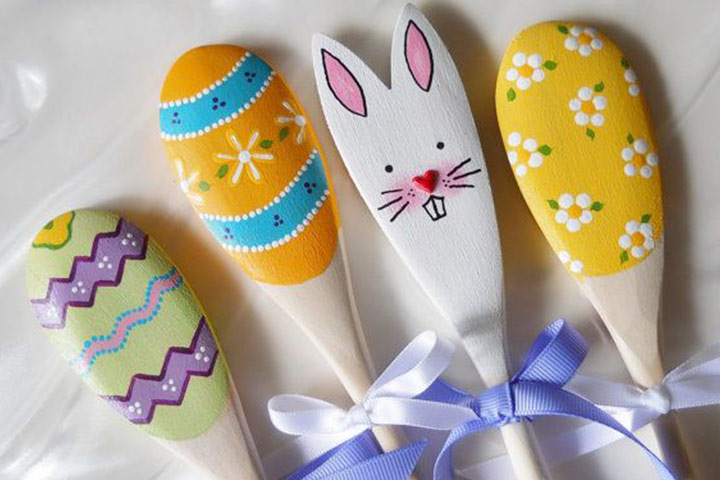 Wooden Spoon Bunny
