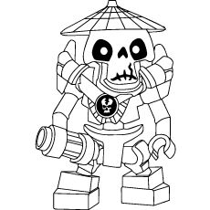 Ninjago Wyplash Coloring Pages