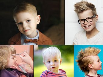 21 Cute And Trendy Toddler Boy Haircuts