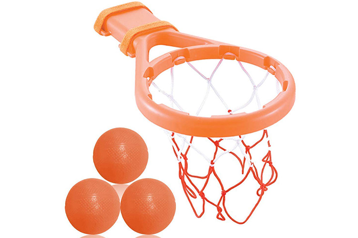 3-Bees-&-Me-Bath-Toy-Basketball-Hoop-&-Balls-Set