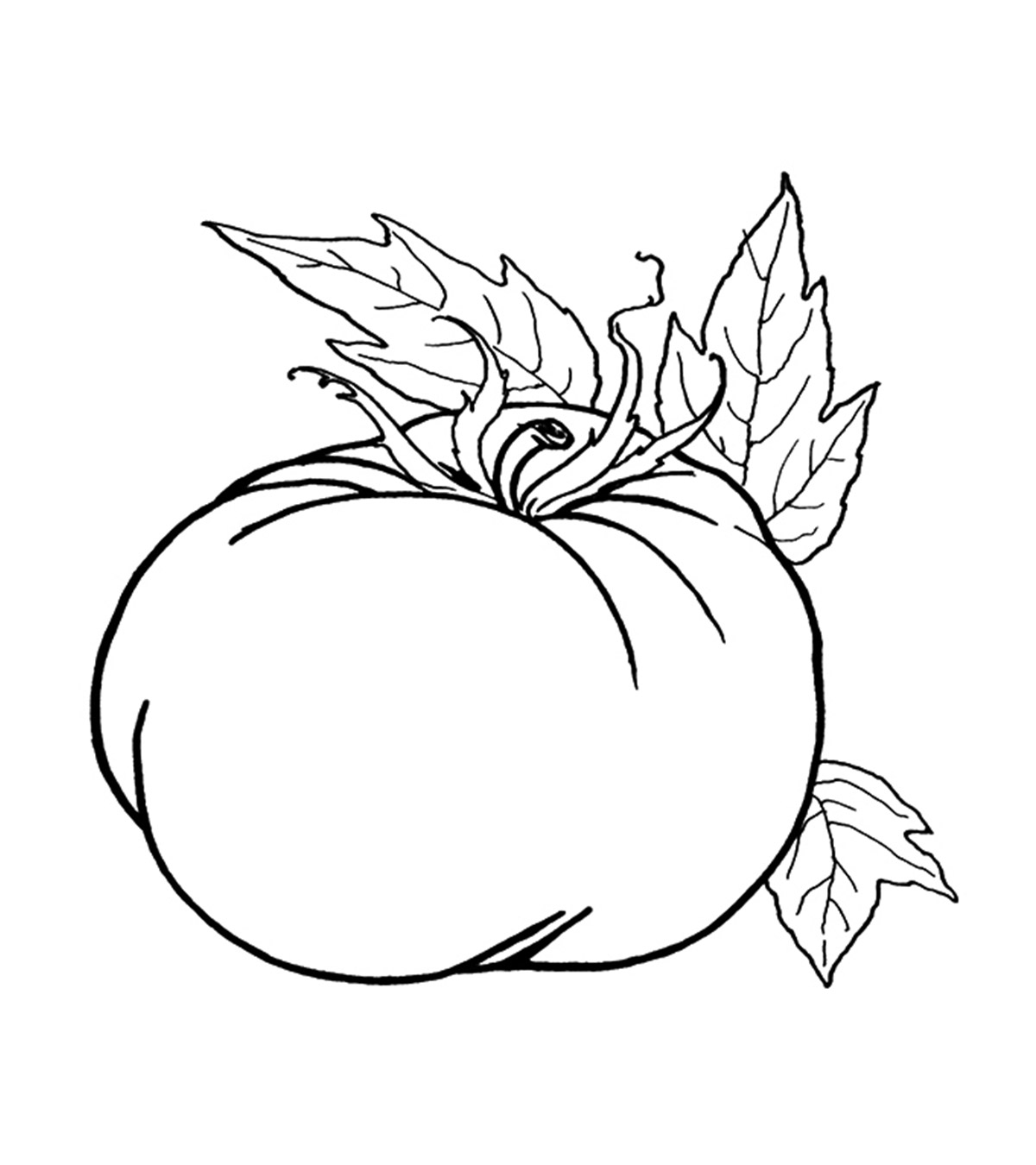 - Fruits And Vegetables Coloring Pages - MomJunction