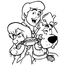 Disney-Scooby-Shaggy-and-Fred-Coloring