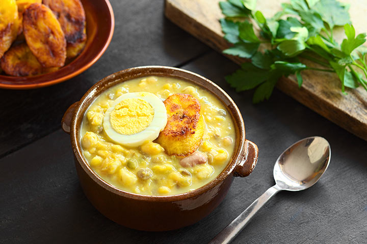 Egg And Sweet Corn Soup