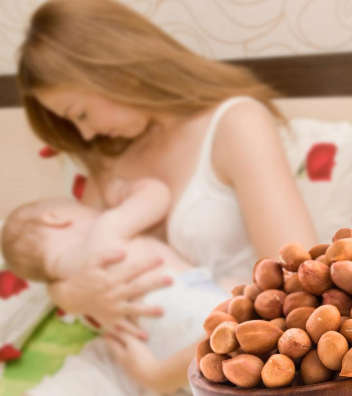 Peanuts While Breastfeeding