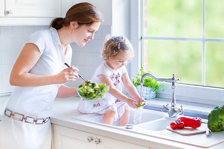 Let Her Do Chores