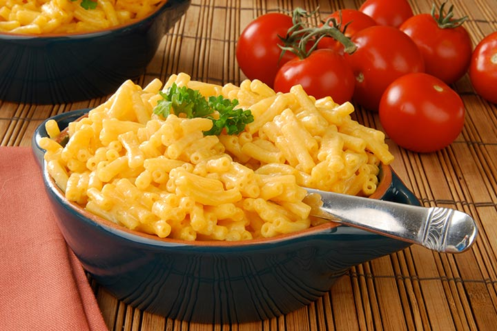 Macaroni And Two Cheeses