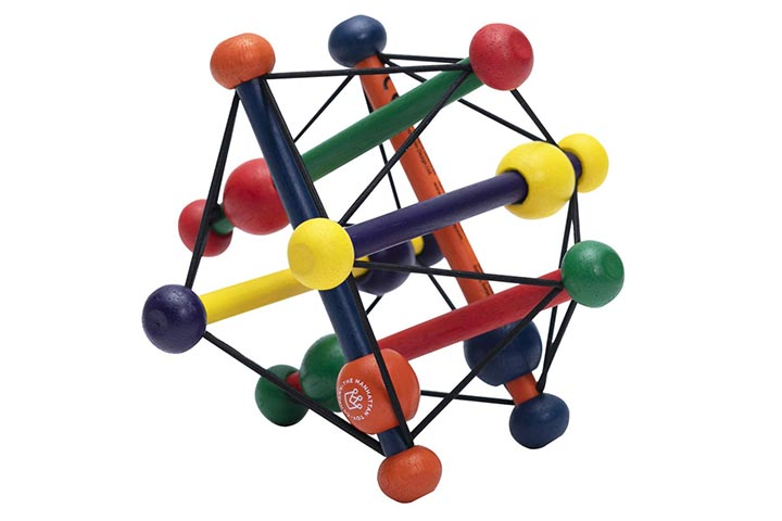 Manhattan Toy Skwish Classic Rattle And Teether