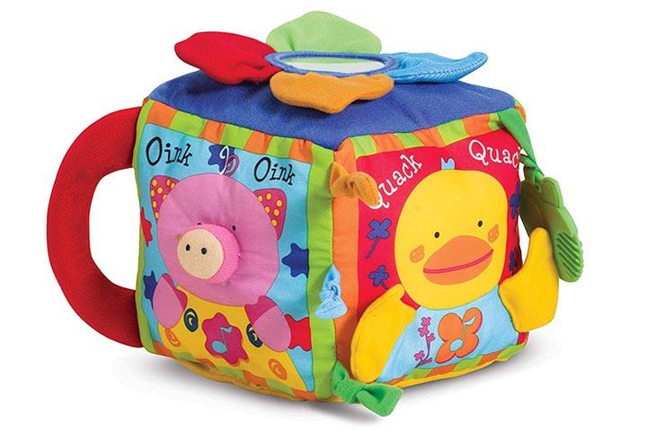Melissa Doug K's Kids Musical Farmyard Cube