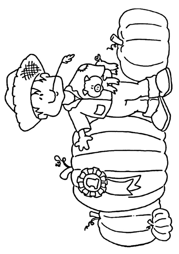 Pilgrim-Boy-Coloring-Page