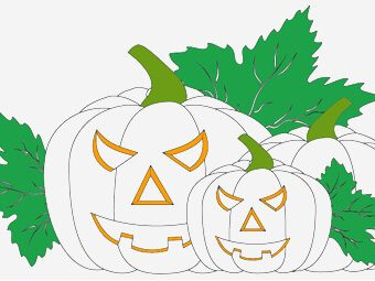 Top 25 Pumpkin Coloring Pages For Your Little Ones