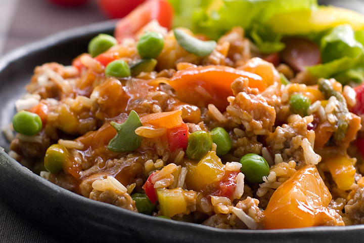Rice And Vegetable Mix