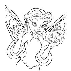 rosetta with a pumpkin coloring pages - Pumpkin Coloring Sheets Printable