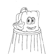 Pumpkin & Spookley The Square Coloring Pages