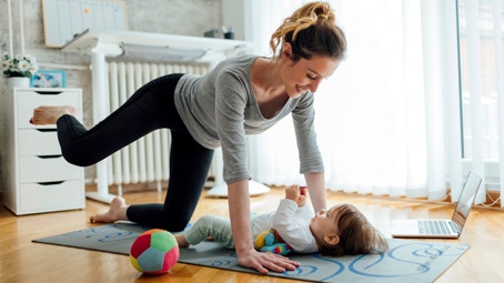 Start Exercising After Your C-Section