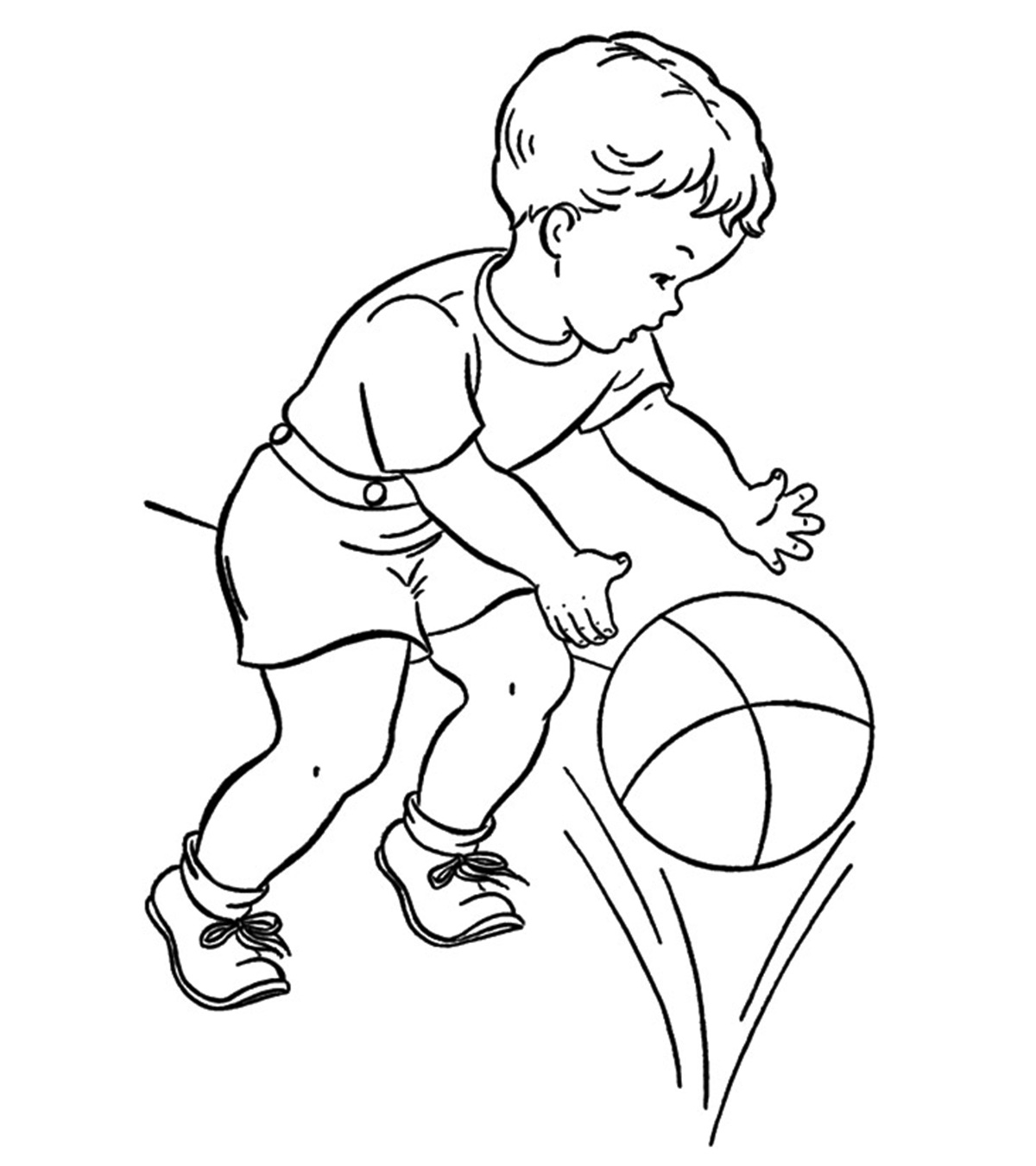 Sports Coloring Pages - MomJunction