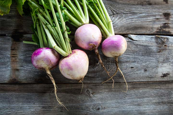 Turnip For Babies Right Age, Benefits And Recipes To Try
