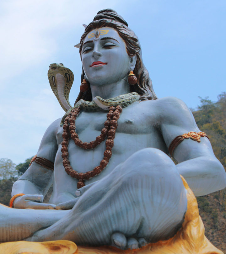 108 Wonderful Names Of Hindu Lord Shiva For Your Baby Boy