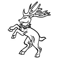 A-heraldic-reindeer-by-gold