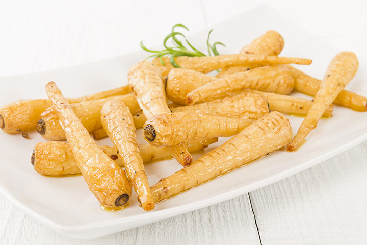 Baked Parsnip Finger Food