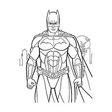 Exceptional Batman Superhero Coloring Pages