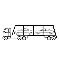 Top 25 Free Printable Cars Coloring Pages Online