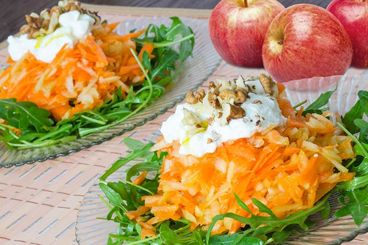 Carrot And Apple Salad