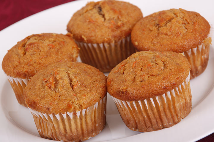 Carrot Coconut Pineapple Muffins
