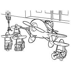 Cartoon-Plane